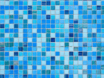 Mosaic glass tile wall. Stock Photos