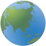 Mosaic globe Stock Images
