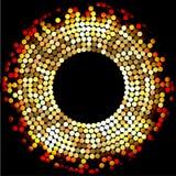 Mosaic Gold Stock Photography