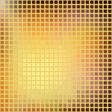 Mosaic with gold grid Royalty Free Stock Photos