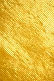 Mosaic golden wall Royalty Free Stock Image
