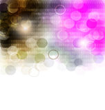 Mosaic gradient geometric background Royalty Free Stock Photos