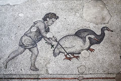 Mosaic from the Great Palace of Constantinople Stock Photo