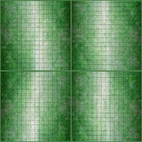Mosaic green background Royalty Free Stock Photo
