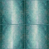 Mosaic green background Stock Image