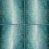 Mosaic green background Stock Image