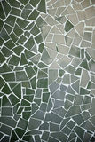 Mosaic green tiles Stock Photo