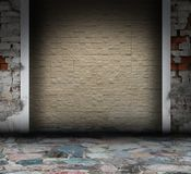 Mosaic grunge interior Stock Photos