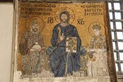 Mosaic in Hagia Sophia museum, Istanbul Stock Photo