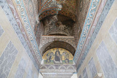 Mosaic in Hagia Sophia Royalty Free Stock Images