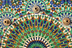 Mosaic, Hassan II Mosque, Casablanca Royalty Free Stock Images