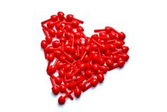 Mosaic Heart stock image