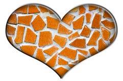 Mosaic heart Stock Photos