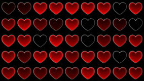 Mosaic heart stock footage