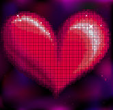 Mosaic heart Royalty Free Stock Photo