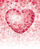 Mosaic heart Stock Photography