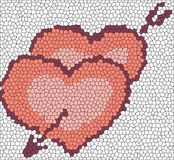Mosaic hearths Stock Image