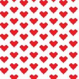 Mosaic hearts Stock Photography