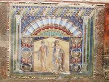 Mosaic, Herculaneum Stock Images