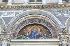 Mosaic icon of the Pisa Cathedral, Italy Royalty Free Stock Photography