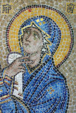Mosaic icon of Virgin Mary. Pic of Mosaic icon of Virgin Mary Stock Photography