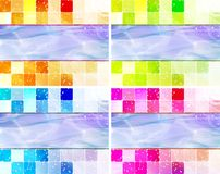 Mosaic  illustration Royalty Free Stock Image