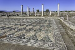 Free Mosaic In Pella, The Native Town Of Alexander The Great, Macedonia, Greece Royalty Free Stock Photography - 177361837