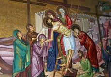 Mosaic in  Jerusalem Stock Image