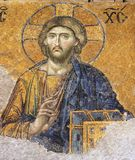 Mosaic of Jesus Christ Stock Images