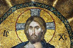 Mosaic of Jesus Christ Stock Image