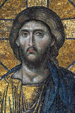Mosaic of Jesus Christ. In church of Hagia Sofia, Istanbul, Turkey Stock Photo