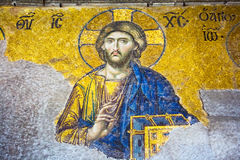 Mosaic of Jesus Christ Royalty Free Stock Images