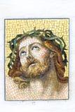 Mosaic of Jesus Christ. Stock Photos