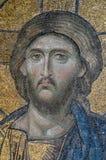Mosaic of Jesus Christ_Istanbul Stock Image