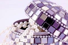 Mosaic jewelry box Stock Photo