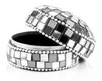 Mosaic jewelry box Royalty Free Stock Photos
