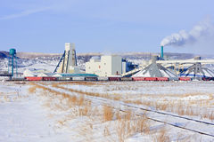 Mosaic K1 potash mine Stock Image