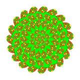 Mosaic kaleidoscope ornament Stock Images