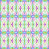 Mosaic kaleidoscope seamless pattern background light pastel colors Royalty Free Stock Image