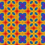 Mosaic kaleidoscope seamless background - full colored with floral pattern. Mosaic kaleidoscope seamless texture background - full colored with floral pattern Royalty Free Stock Photo