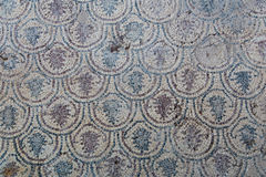 Mosaic in Kaunos Church Stock Images
