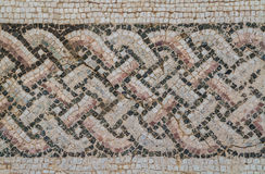 Mosaic in Kourion, Cyprus Royalty Free Stock Photo