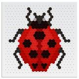 Mosaic Ladybird Royalty Free Stock Photography