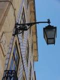 Lantern and facade in Lisboa Stock Photography