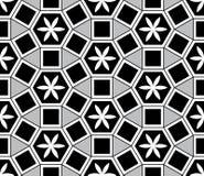 Mosaic Le Domus Romane stijl naadloos patroon royalty-vrije illustratie
