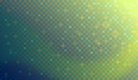 Mosaic light wave Stock Photography