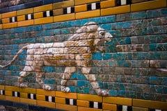 Mosaic Lion Stock Photo