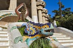 Mosaic Lizard Stock Images