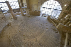 Mosaic, Madaba, Jordan. Ancient mosaic in Madaba, Jordan Stock Photos