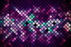 Mosaic Magenta background  Stock Photo
